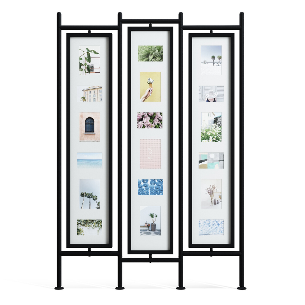 Umbra Black Room Divider / Photo Display from Funky Gifts NZ