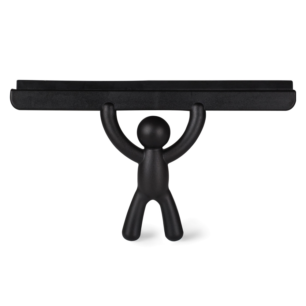 Umbra Buddy Shower Squeegee in Black from Funky Gifts NZ
