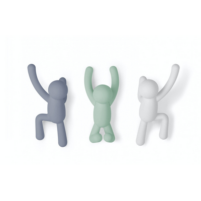 Umbra Wall Buddy Multi colour Hooks from Funky Gifts NZ