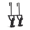 Umbra Over the door double Buddy hooks in Black from Funky Gifts NZ