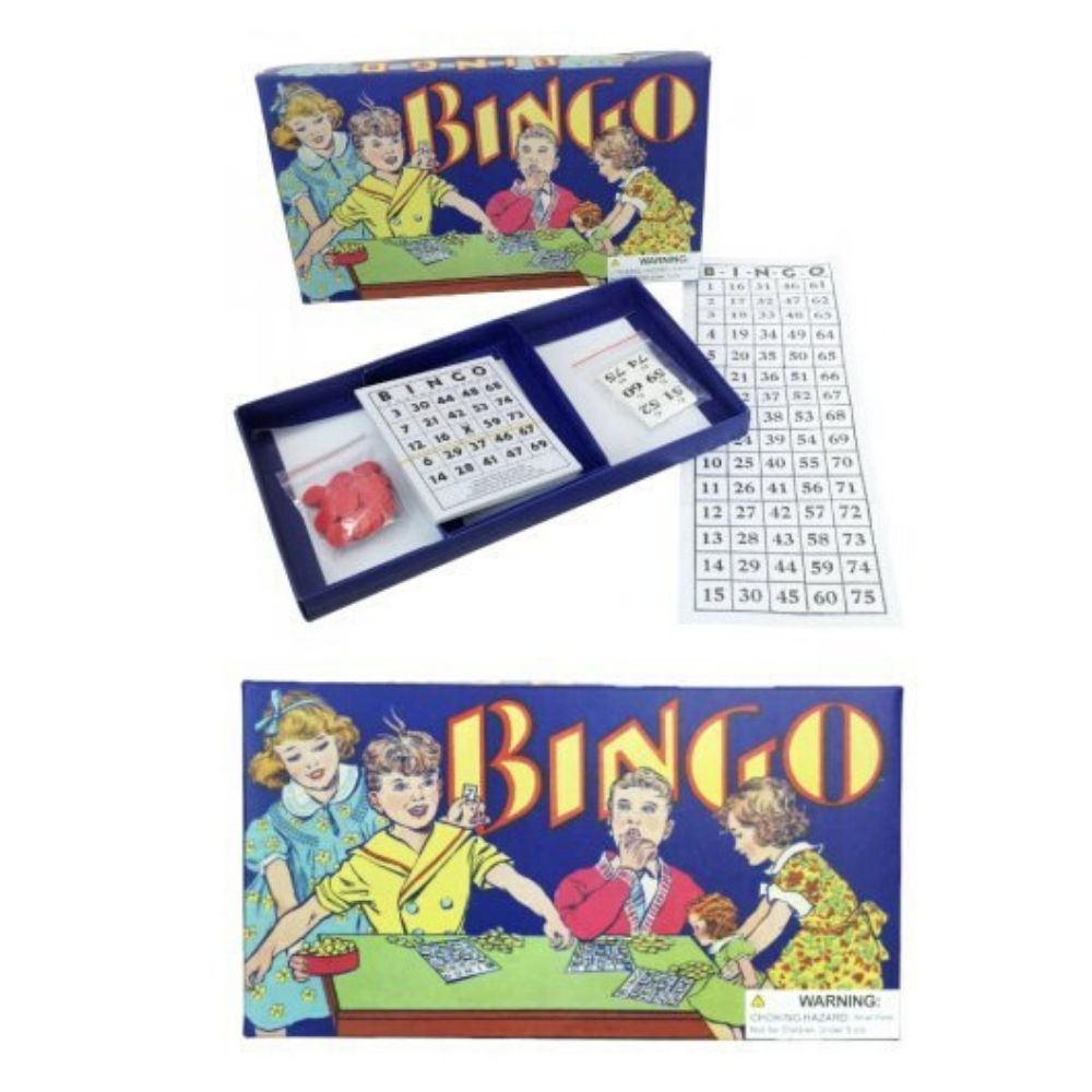 Retro Bingo Game