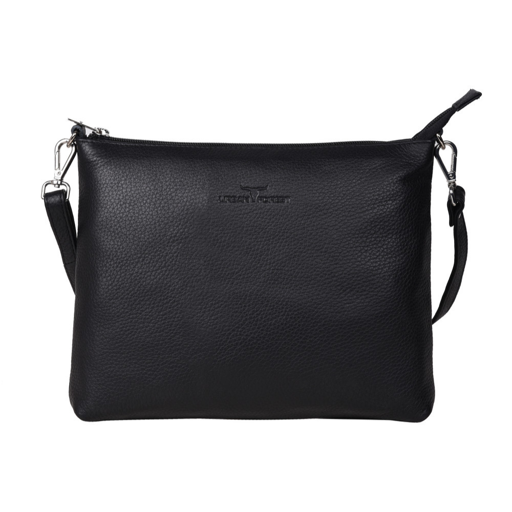 Urban Forest Emma Leather Sling Bag in Black from Funky Gifts NZ
