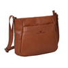 Urban forest Olivia Zip Top bag with front pocket Cognac colour from Funky Gifts NZ