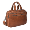 Urban Forest Quality Leather Redford Laptop Satchel Briefcase in Riley Cognac from Funky Gifts NZ