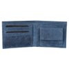 Urban Forest Leather Logan Wallet in Blue from Funky Gifts NZ