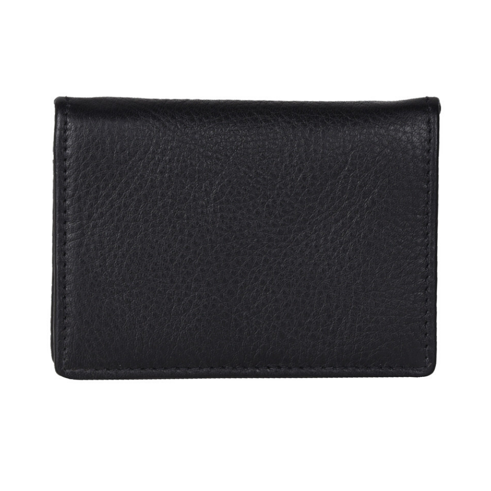 Urban Forest Nico Leather Coin Purse - Black