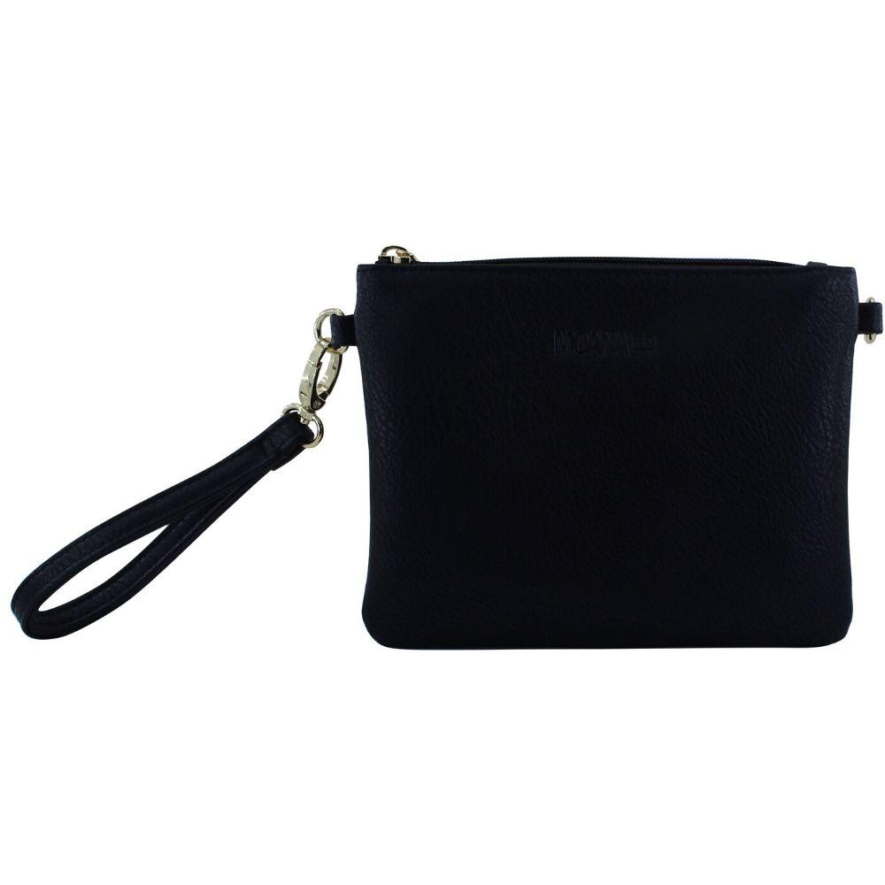 Moana Road Leather Black Viaduct Clutch Small Black