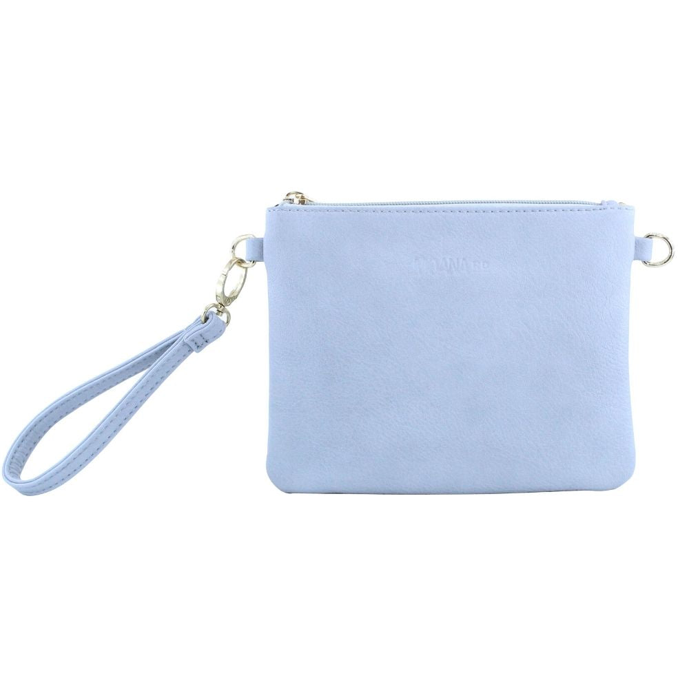 Viaduct Clutch Leather Funky Gifts New Zealand Grey