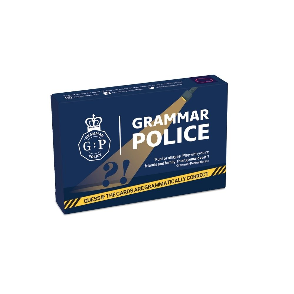 Grammer Police Game from Funky Gifts NZ