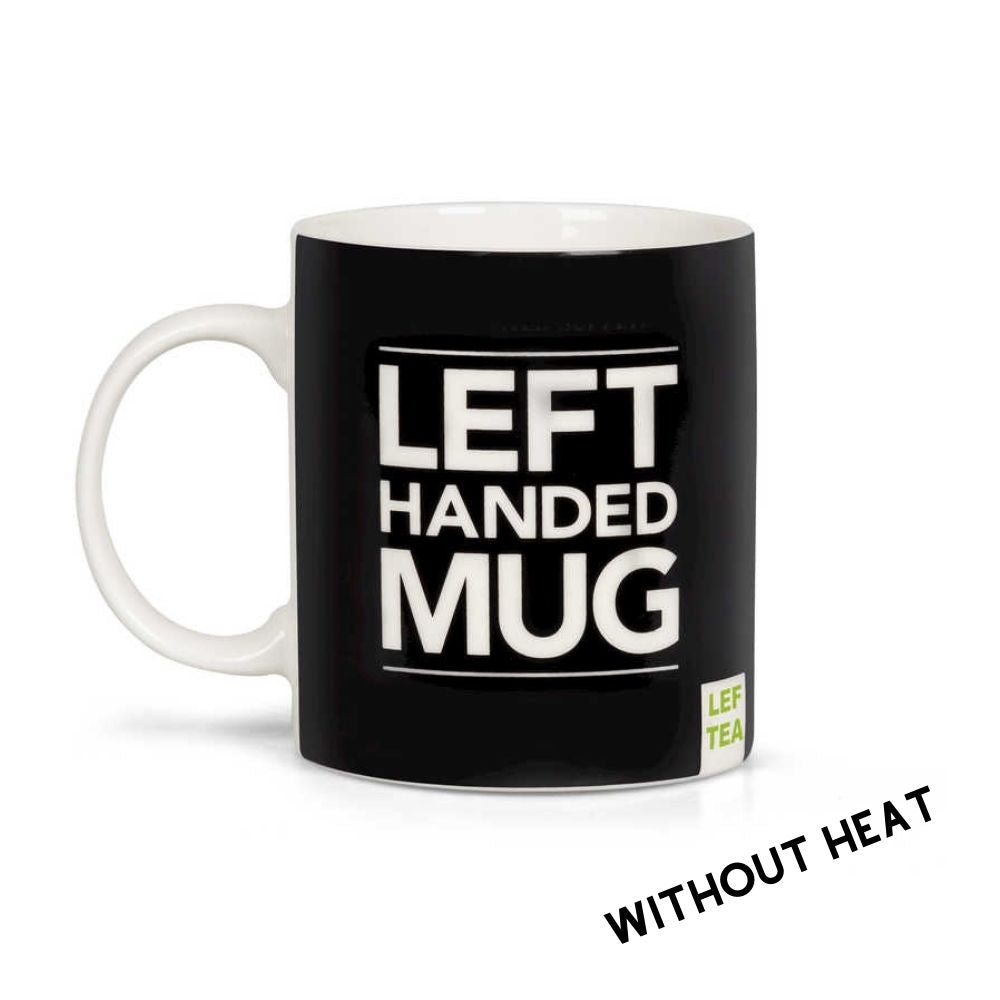Left Handed Heat Changing Novelty Mug from Funky Gifts NZ
