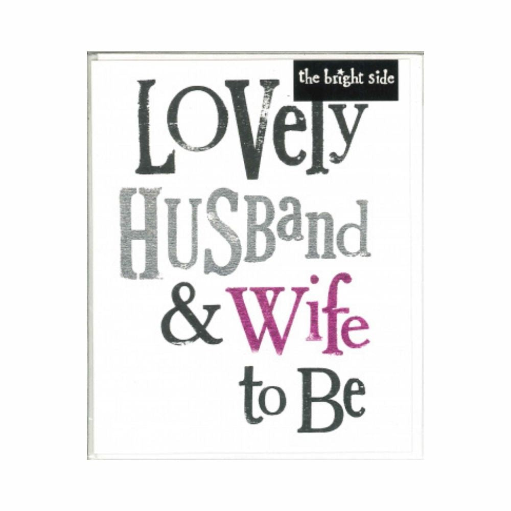 lovely husband and wife to be from funky gifts nz