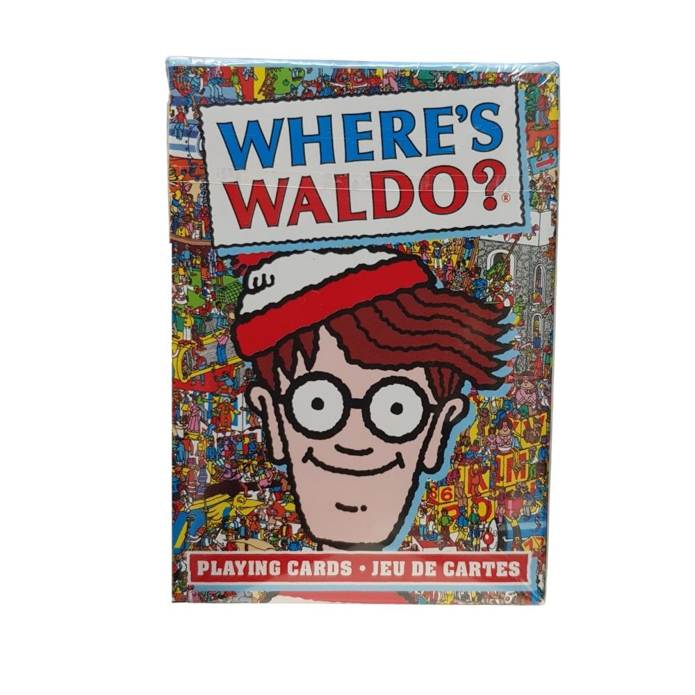 Where's Waldo playing Cards from Funky Gifts NZ