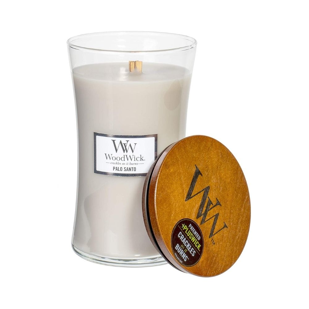 Large Scented WoodWick Soy Candle - Palo Santo