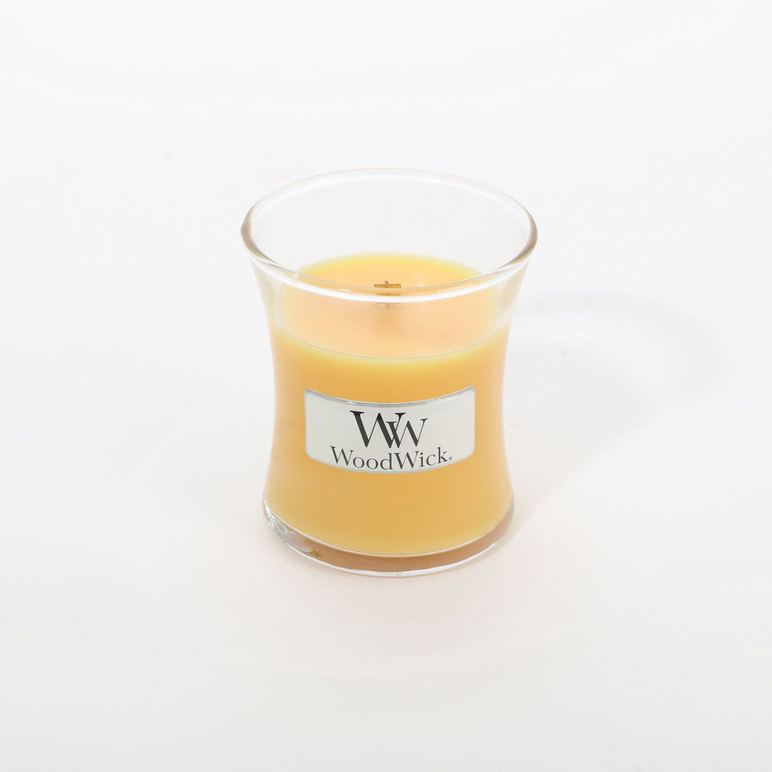 Small Seaside Mimosa Scented WoodWick Soy Candle