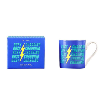 Busy Charging Mug from Funky Gifts NZ