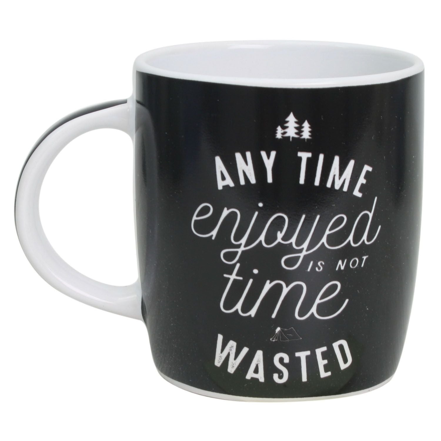 Time Enjoyed Not Wasted Mug