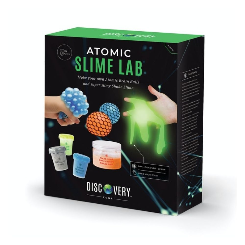 5 in 1 Atomic Slime Lab Kit DIY Activity Game from Funky Gifts NZ