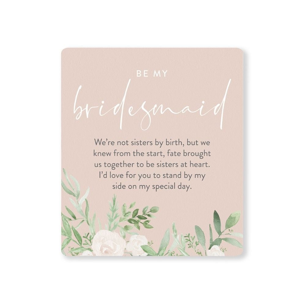 Be my bridesmaid wedding verse from funky gifts nz