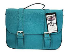 The School Bag Handbag Pool Blue