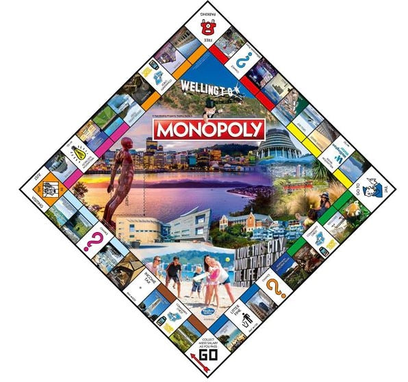 Wellington Edition Monopoly Game Edition