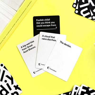 Cards Against humanity family edition from funky gifts nz
