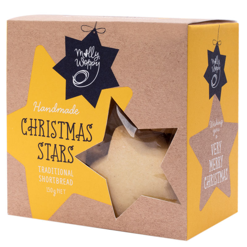 Shortbread Star Box 130g