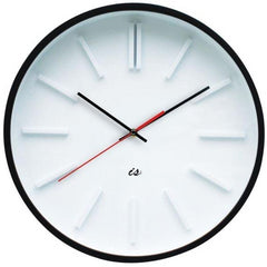 Wall Clock Station - Red Second Hand