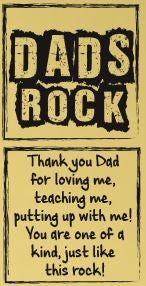 Happiness Rock - DADS ROCK