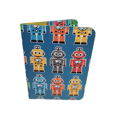 Kids Robot Passport holder from funky gifts nz