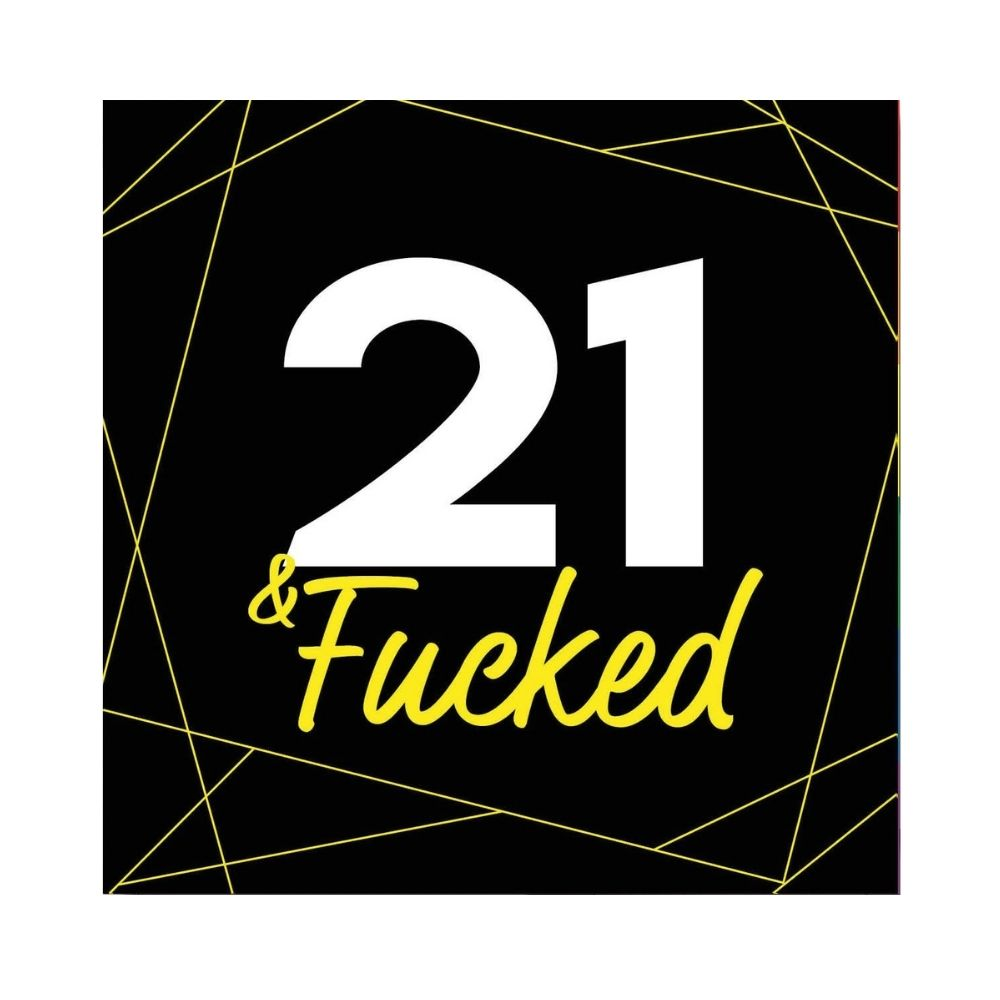 21 and fucked Greeting Card funky gifts nz