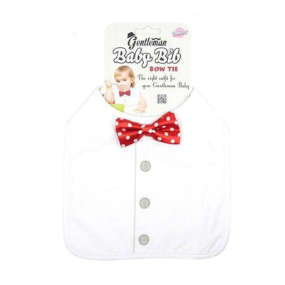 gentleman baby bib bow tie from funky gifts nz