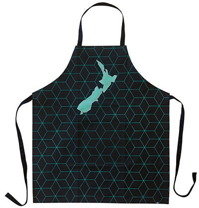 Geometric NZ Map Apron