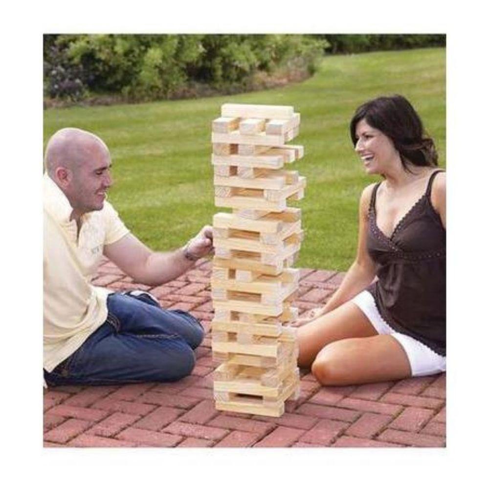 Giant Jenga Outdoor Game - Giant Tumbling Tower
