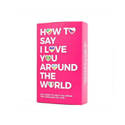 HOw to say I love you around the world from Funky Gifts NZ