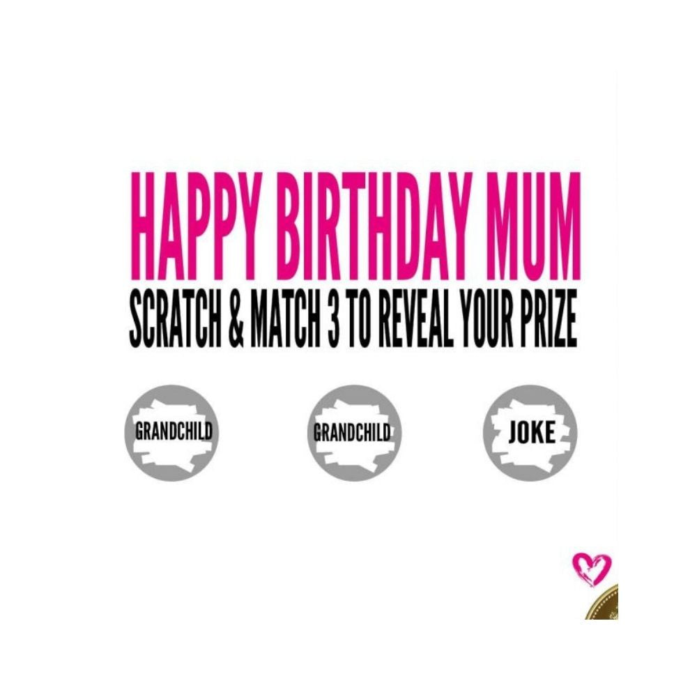 Happy birthday mum greeting card from funky gifts nz