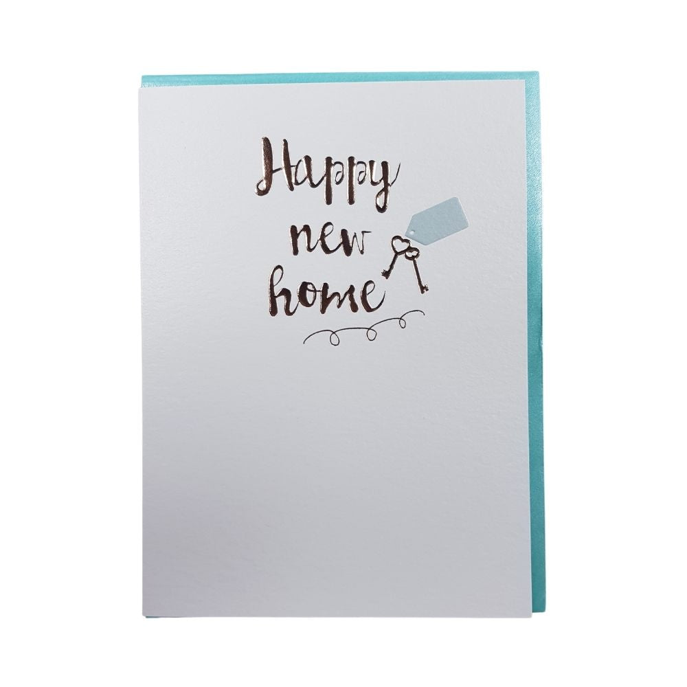 Greeting Card - Happy New Home