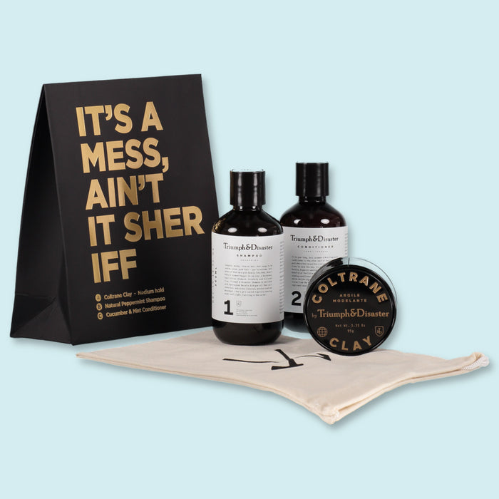 TRIUMPH & DISASTER - GIFT BAG - It's a Mess Aint't it Sherriff