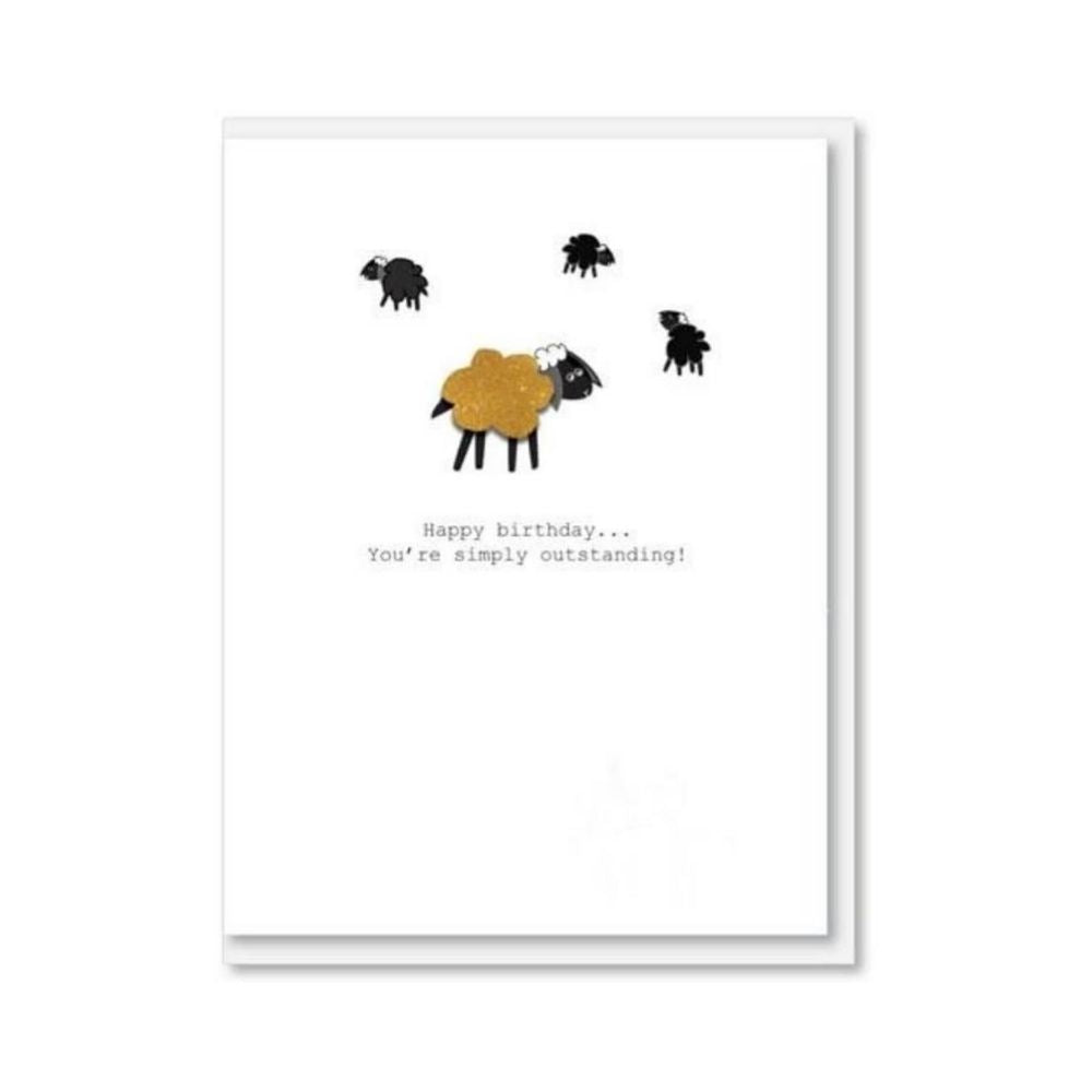 NZ MADE GREETING CARD - Simply Outstanding