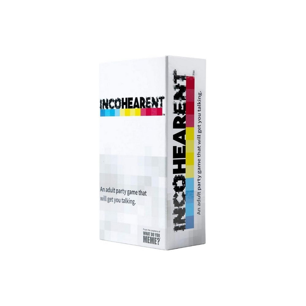 Incohearent Adult party game from funky gifts nz