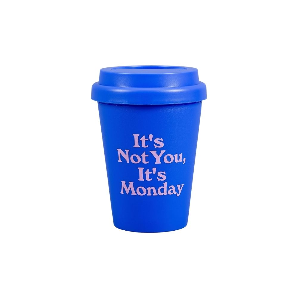 its not you it monday travel cup from funky gifts nz