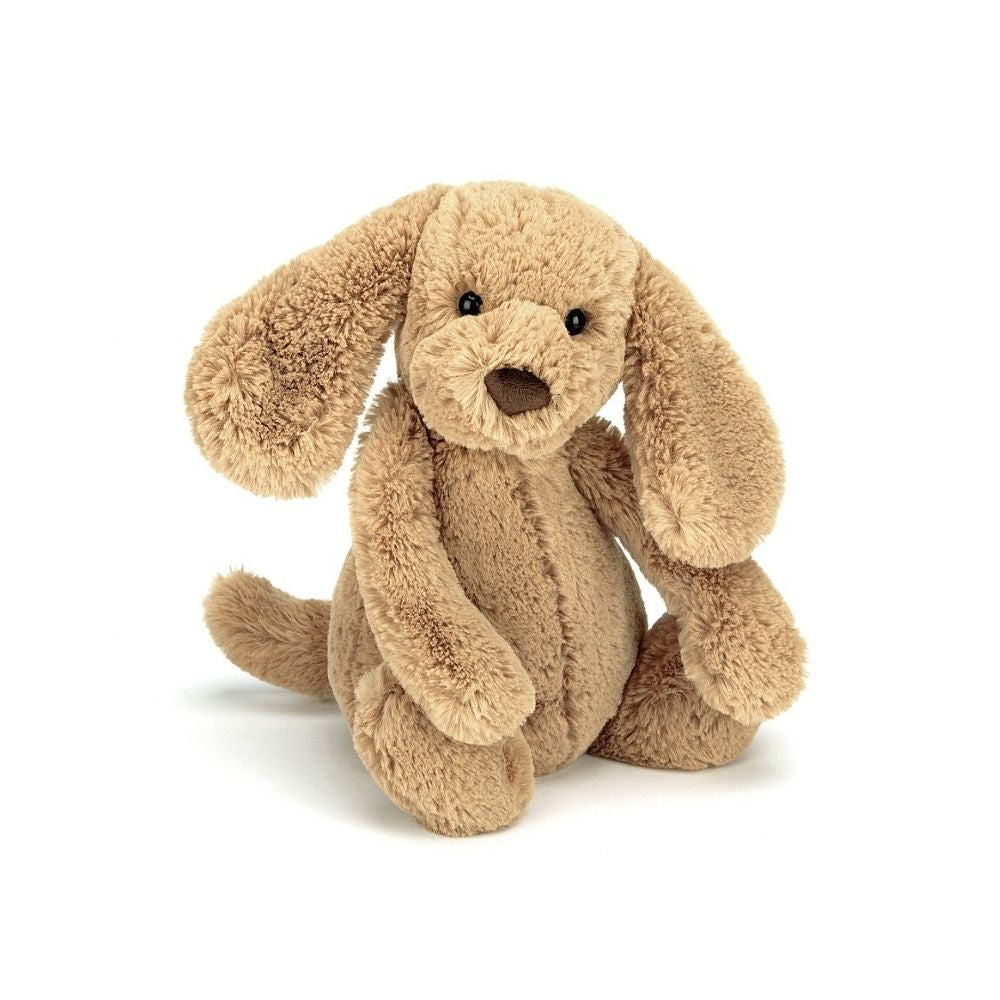 Jellycat Bashful Puppy Toffee from Funky Gifts NZ