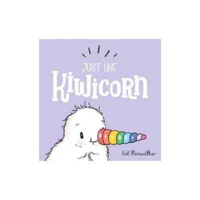 Just like kiwicorn board book from funky gifts nz