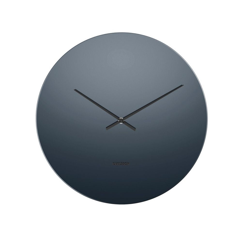 Karlsson Mirage Black Wall Clock from Funky Gifts NZ
