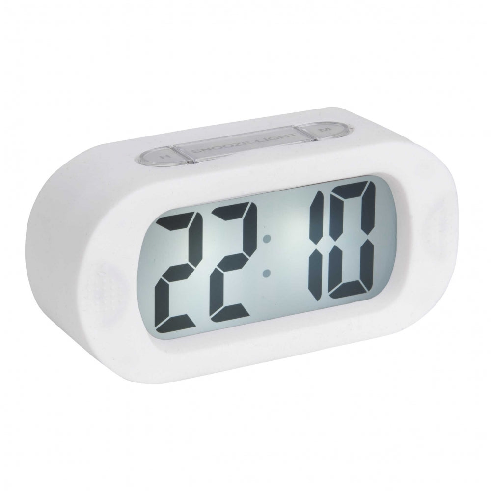 Karlsson Alarm Clock Gummy - White
