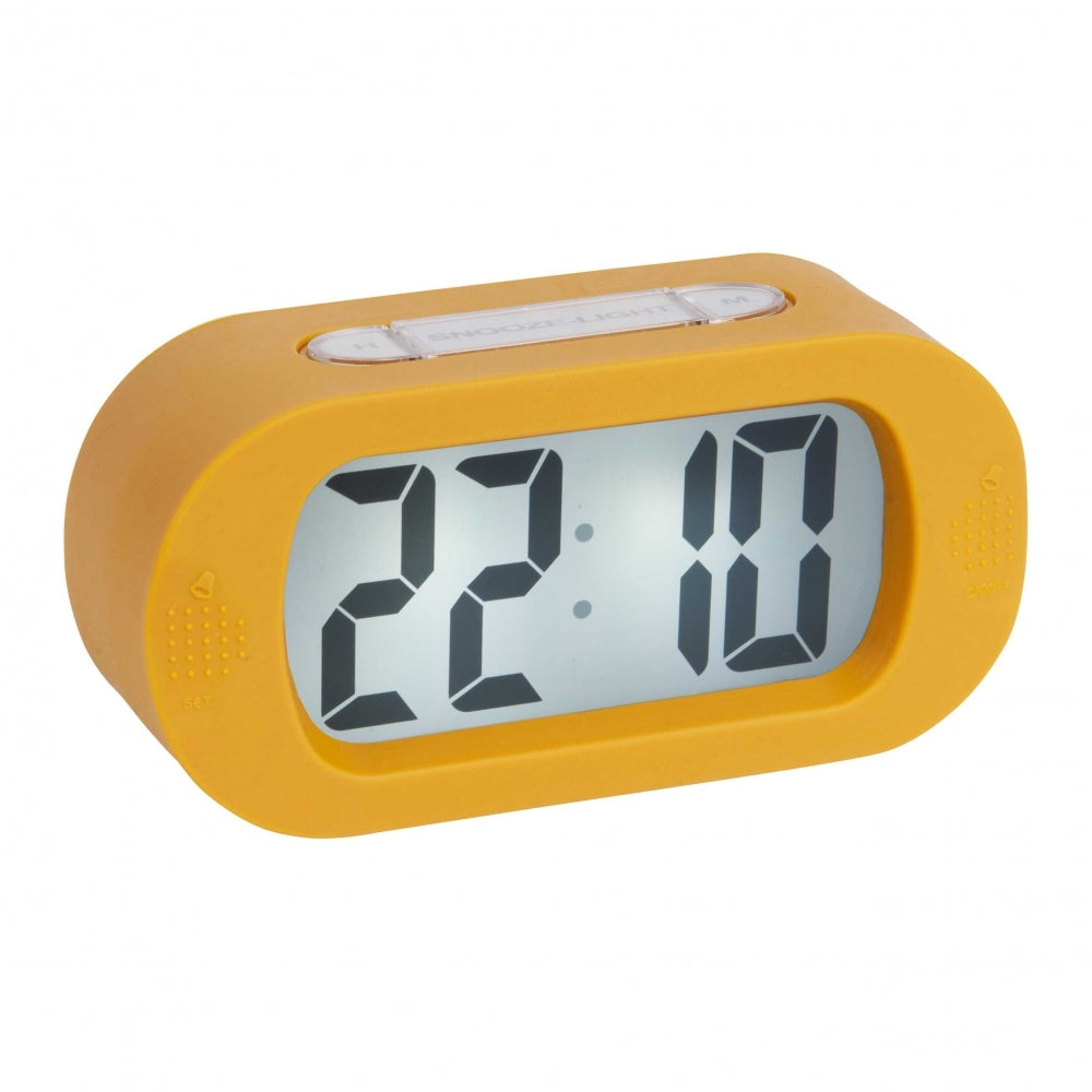 Karlsson Gummy Alarm Clock Yellow