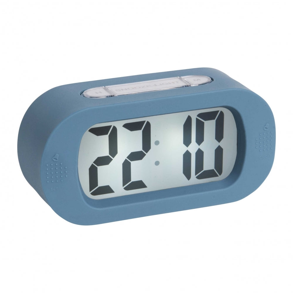 Karlsson Gummy Alarm Clock Blue