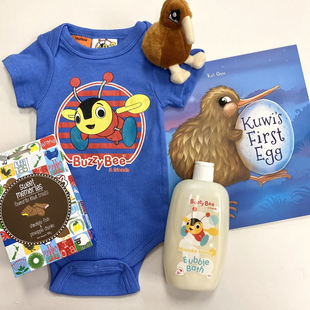kiwiana new baby gift pack