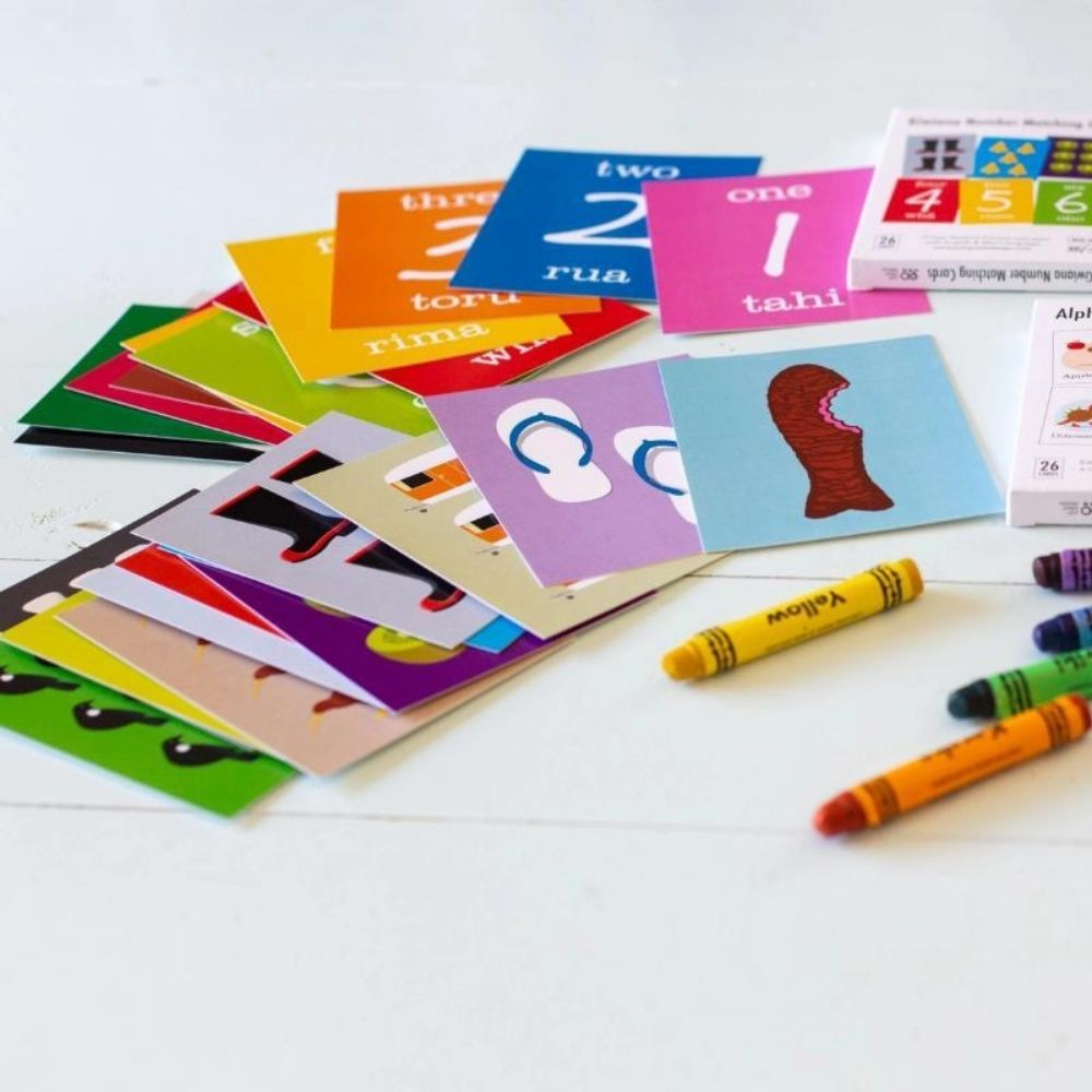 Kiwiana Number Matching Game from funky gifts nz