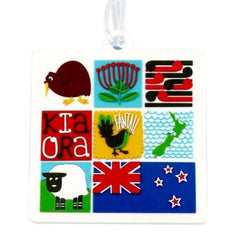 Luggage Bag Tag - Kiwiana Tiles