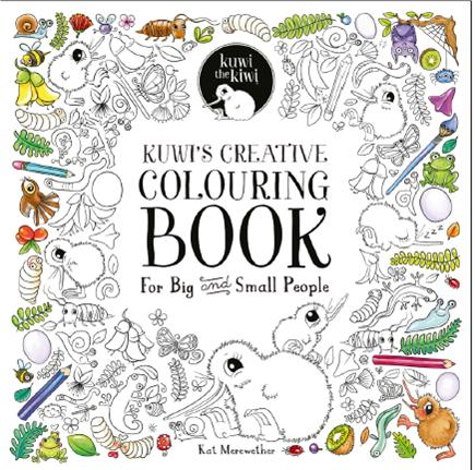 Kuwi's Creative Colouring Book + Little Kuwi